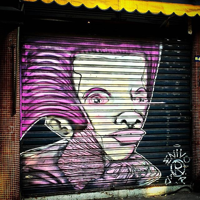 #ENIVO #urbangraffiti #grafite #graffitiart #streetart #StreetArtRio #graffitirio #wallpainting #painting #paint #mural #persiana #shutter #instastreet #streetphotography #streetphoto #graffiti #graff #rua #street #RiodeJaneiro #RJ #BR #Rio #Brasil