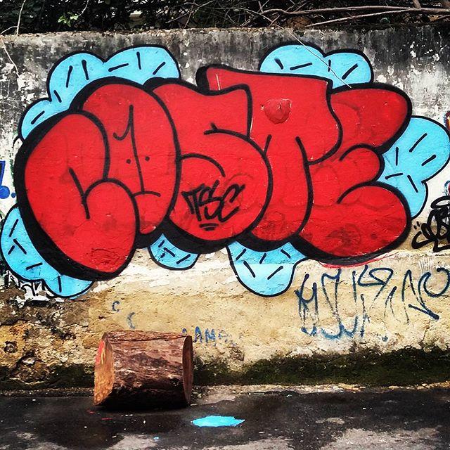 Na quebrada!!! Fast booble!! #coste #costeone #red #tsc #2015 #throwup #bomb #bombtime #rolinho #riodejaneiro #letters #letras #quebrada #rua #tijuca #tjk #fast #booble #ruaRJ #rjvandal