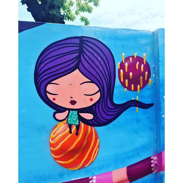 Nina. @tozfbc #riodejaneiro #lagoarodrigodefreitas #arteurbanabr #artelivre #streetartrio #graffiti #graffrio #grafite #caminhada #projetosaúde #jockeyclub