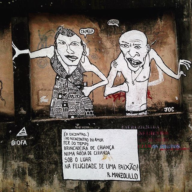 Pesquisei, pesquisei e não consegui saber de quem é. #miajuda #poesia #asruasfalam #oqueasruasfalam #arteurbana #graffiti #urbanarts #pixo #instagrafite #rua #aruaénóiz #streetartrj #streetart #rj #riodejaneiro #streetartrio