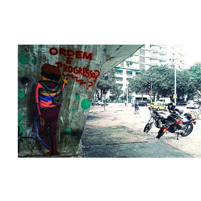 Pra quem?! #artrua #streetartrio #streetart #graffiti #botafogo #osgemeos
