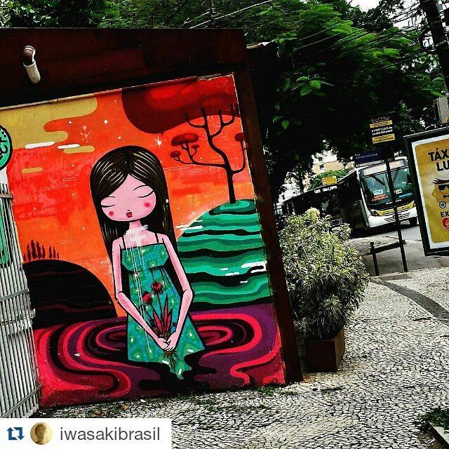#Repost @iwasakibrasil with @repostapp ・・・ #TomazViana #tozfbc #urbangraffiti #urbanart #arteurbana #artederua #arterua #grafite #graffitiart #streetart #graffitirio #paintingart #wallpainting #painting #mural #instamural #streetphotography #streetphoto #graffiti #graff #rua #StreetArtRio #lagoa #RiodeJaneiro #RJ #Rio #Brasil