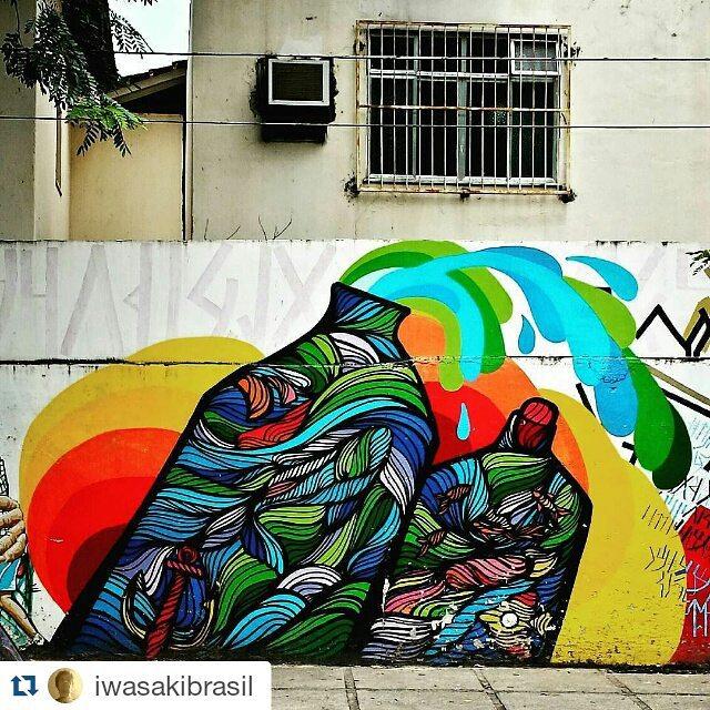 #Repost @iwasakibrasil with @repostapp ・・・ #brunobig #urbangraffiti #grafite #graffitiart #streetart #StreetArtRio #graffitirio #wallpainting #painting #paint #mural #murals #instamural #publicart #streetphotography #streetphoto #graffiti #graff #rua #street #Lagoa #RiodeJaneiro #RJ #BR #Rio #Brasil