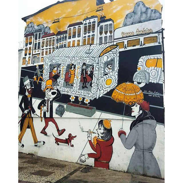 STREET ART IN URUGUAI STREET AND BR DE MESQUITA STREET ARTIST: CAZÉ, BIRITA, FX #streetphotography #buildinggraffiti #graffitiart #art #streetart #handmade #instagraffiti #street #graff #animation #urban #wallart #spraypaint #aerosol #spray #wall #mural #murals #painting #arte @sarahzarstudio #color #streetartistry #artist #grafiti #urbano #rue #guerillaart #streetartrio