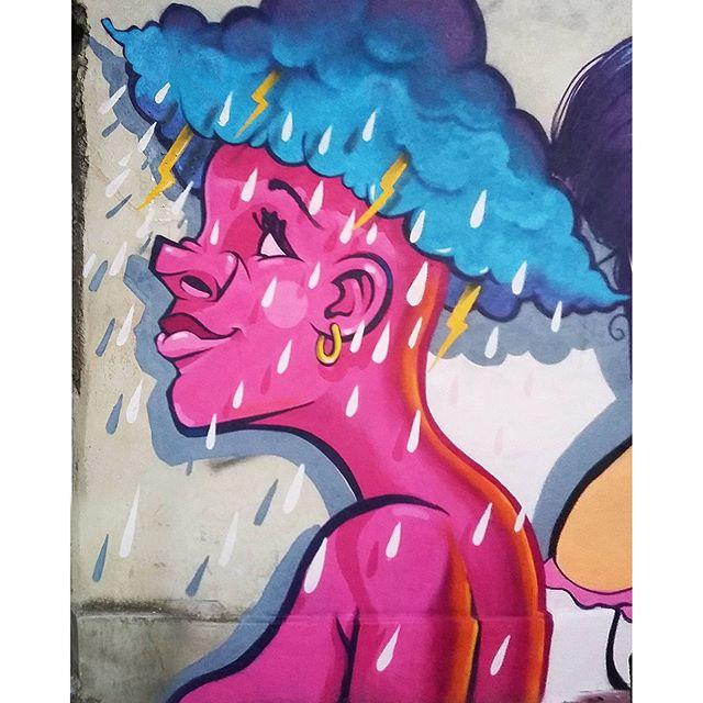 Tempestade contínua... #kovokcrew #streetartrio #graffiti #arteurbana #streetart