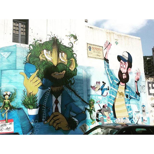 Uma sombra chata atrapalhou a foto do painel do Cazé! #streetartrio #artelivre #arteurbanabr #murosdorio #riodejaneiro #grafite #graffiti #graffrio