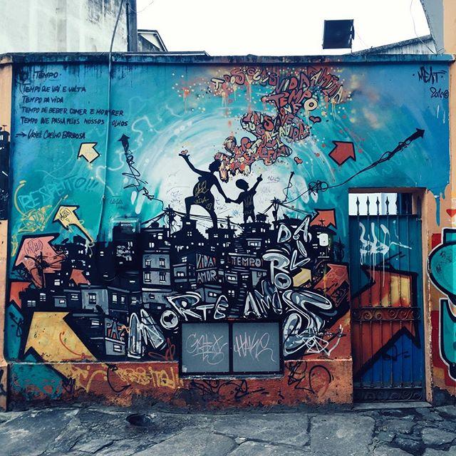 Urban artistry #riodejaneiro #streetartrio #vscocam #travelersnotebook