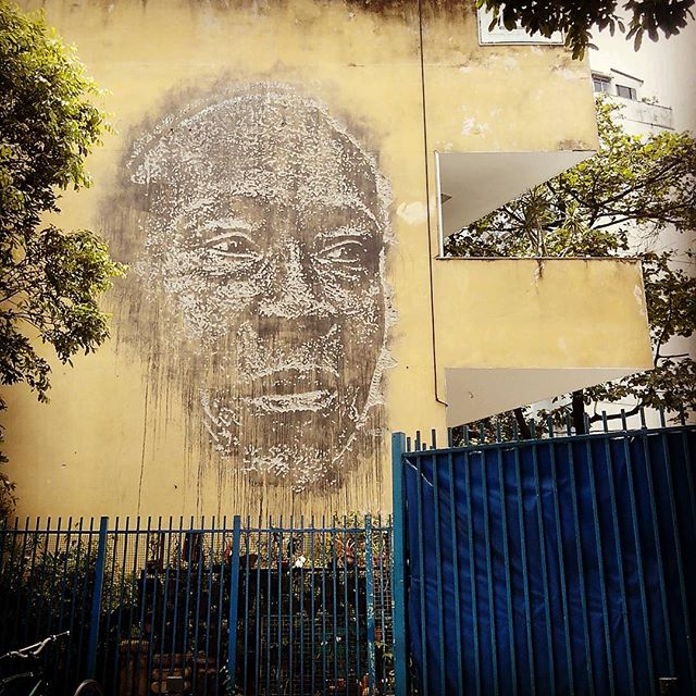 Vihls. Rio de Janeiro. 18/11/2015 | vandalogy #StreetArtRio #StreetArt #riodejaneiro #copacabana #siqueiracampos #vihls
