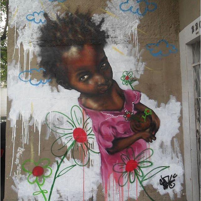 Vindo do grafite, @rodrigosinirodrigosini é craque em pintar crianças negras. Como será que ele vai se sair na batalha?