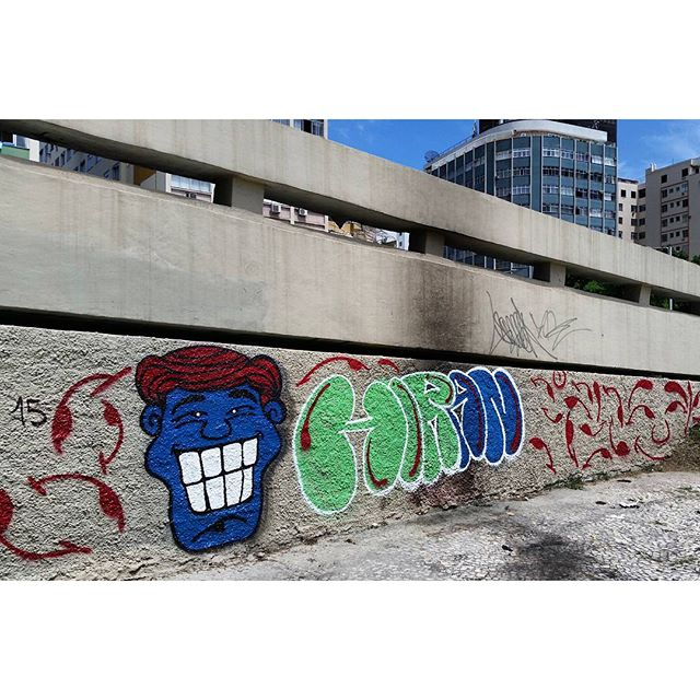 #angatu #angatus #hiran #rafaelhiran #personagem #olheosmuros #streetartrio #fromthestreet #fromthestreets #igersrio #issovicia #artebrasileiros #brarts #arquetipus #graffitilovers #ilovegraffiti #bombing #bomb #welovebomb #graffiticlassicmoments #graffitiigers #vscoart #cenaurbana #olhares #fotografiaurbana #streetart #streetartbrazil #streetphotography #streetarteverywhere