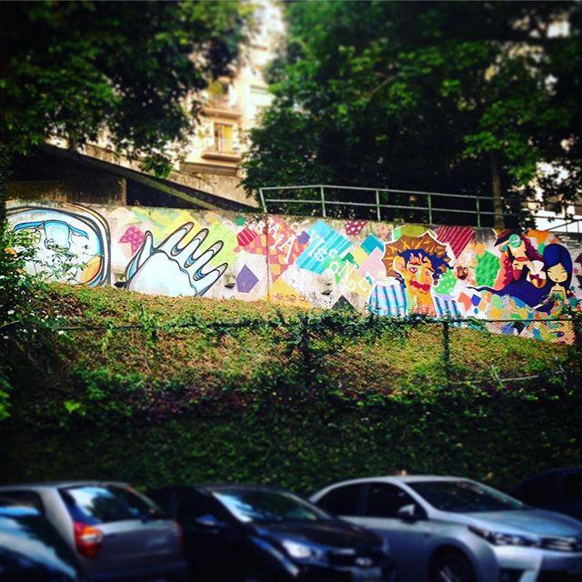 #arte no #jardimbotanico em cantinho do #riodejaneiro #streetart #streetartrio #fbc