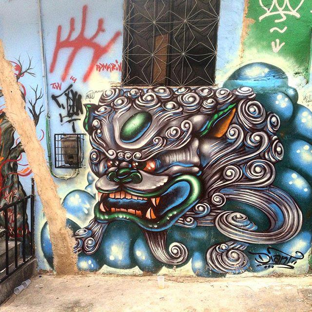 #graffiti #grafporn #streetart #streetartrio #streetartglobe #urbanart #spraydaily #muralsdaily #nofilter #lapa #riodejaneiro #brazil