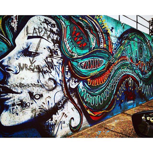 #graffiti #streetart #botafogo #artederua #streetartrio