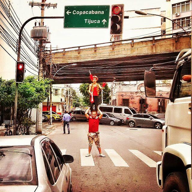 #riocomprido #circo #sinal #transito #malabares #tijuca