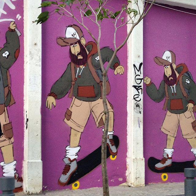 #skate #truck #grab #barbudinho #andarilho #streetartrio #streetstyle #streetartnews #streetartphoto #charactergraffiti #cazesawaya