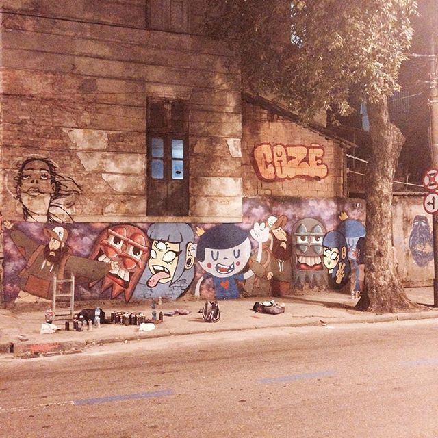 #streetartrio #cazesawaya #barbudinhoo #andarilho