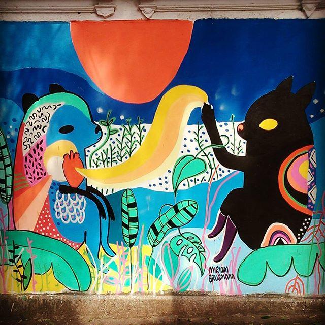 #streetartrio #mirubrugmann