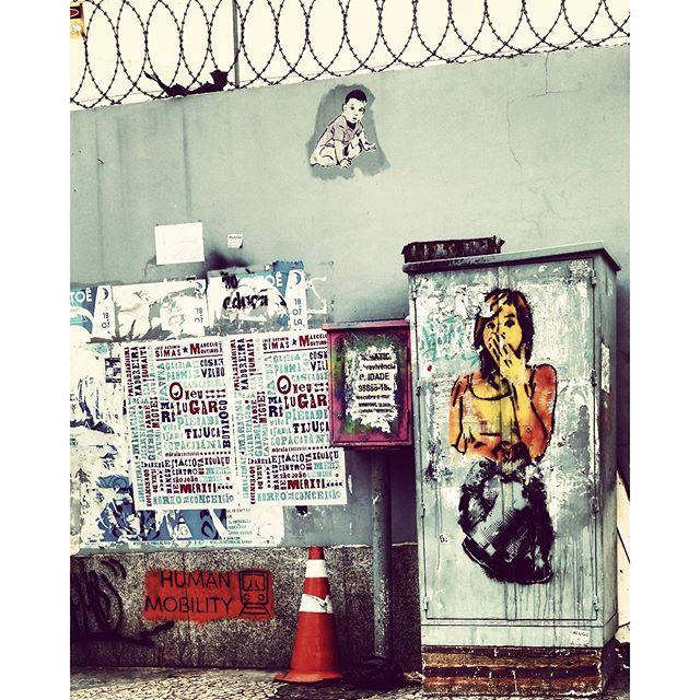 #streetartrio #omeulugar #humanmobility