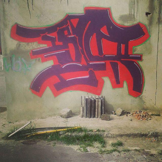 #wolf #calvinwolf #streetartrio #vandal #graffiti #wildstyle #rj