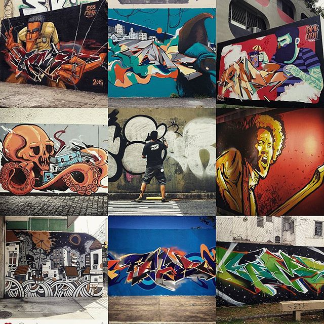 2015 teve muito mais com certeza , mas ta ae no que coube em 9 espaços ... Que 2016 seja muito melhor . #fameone #betofame #graffiti #streetartrio #streetart #anonovo #happynewyear #nrvo