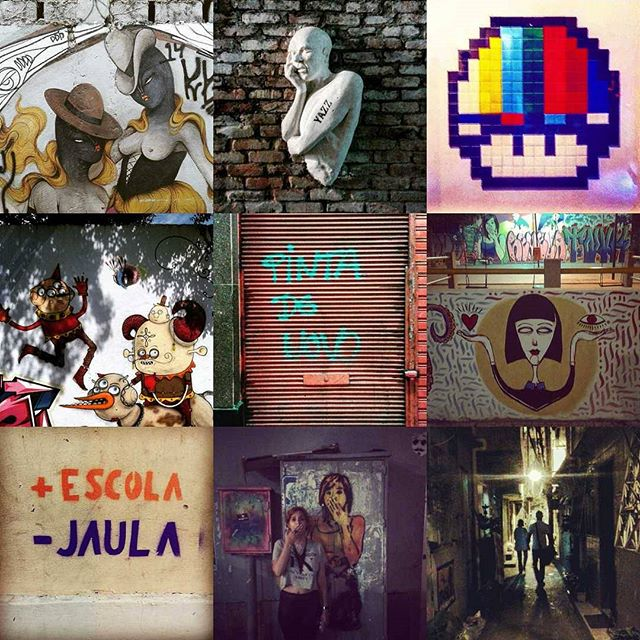 #2015bestnine #streetartrio