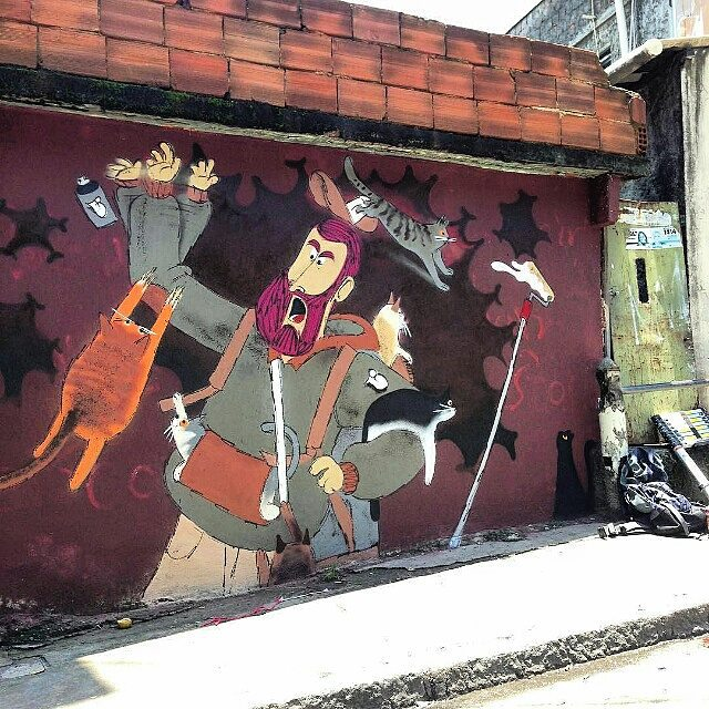 @cazesawaya нарисовал в Рио-де-Жанейро. #cazé #cazesawaya #streetartrio #streetartrj #graffitirio #graffitirj #streetartbr #igersbrazil #ig_brazil #graffitibrazil #граффити_tschelovek #streetart #urbanart #graffiti #mural #стритарт #граффити #wallart #graffitiart #artederua #grafite #arteurbana #wall #graffiticulture #graffitiwall #streetart_daily #streetarteverywhere