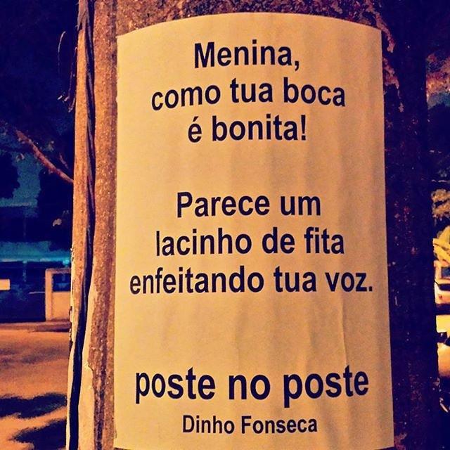 @postenoposte Conheça o livro VERDADE NOTURNA - Dinho Fonseca (Chiado Editora - 284 págs.) no Facebook. Disponível nos sites da Chiado Editora e da EasyBooks. Também em e-book e nas melhores livrarias do Brasil e de Portugal. #poesias #poetry #poema #poemas #verso #versos #poeta #poetas #arte #arteurbana #rj #rio #streetart #original #autor #autoral #post #poste #postes #posts #frases #dinho #dinhofonseca #postenoposte #poster #originals #StreetArtRio #street #verdadenoturna #chiadoeditora