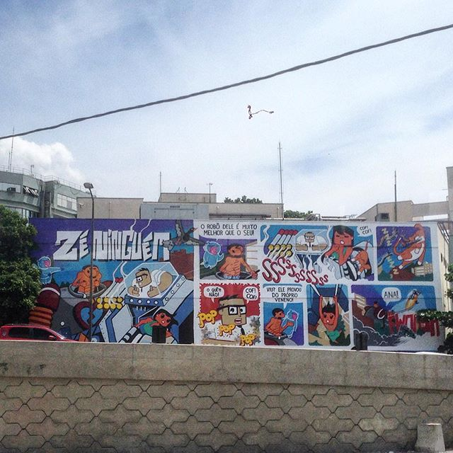 Amazing art done by @tito_na_rua #graffiti #streetart #streetartrio #streetartglobe #urbanart #spraydaily #muralsdaily #riodejaneiro #brazil