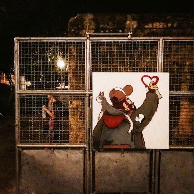Arte de @cazesawaya #corocome #maracatubrasil #chupamuseudoamanha #streetartrio