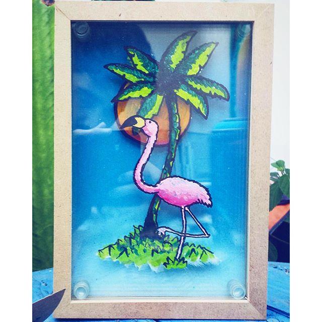 Arte do Rafa! 3 vidros em sobreposição.
