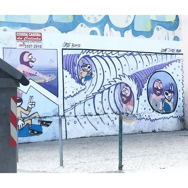 Barbudinho no tubo! #lapaeuteamo #graffiti #graffrio #streetartrio #arteurbanabr #artelivre #murosdorio @cazesawaya