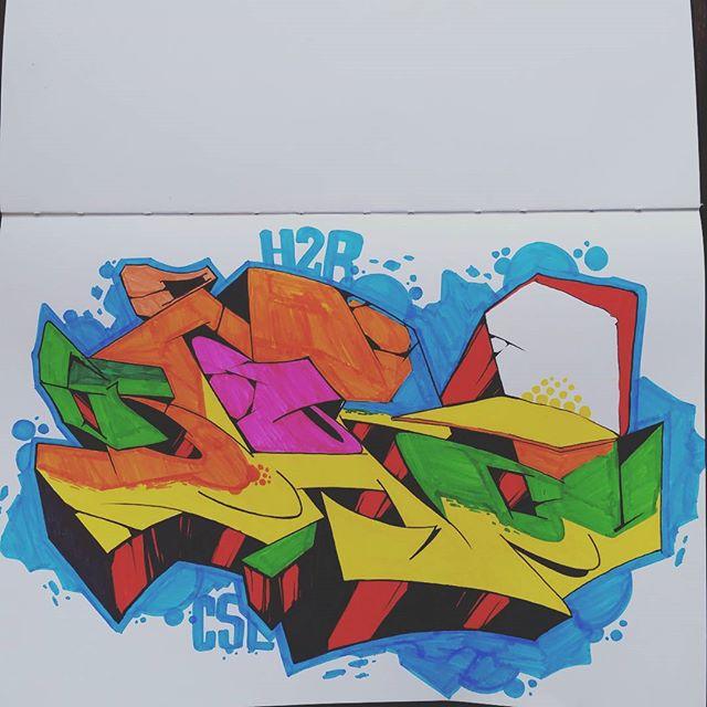 Blackbook session  #graffiti #graffitiart #streetart #art #arte #arteurbana #graffitikings #letters #weloveletters #artsy #drawing #arts #SprayArt #vscocam #wildstyle #wildstylegraffiti #brasil #graffitilovers #streetartrio #Blopa #BlopaOne