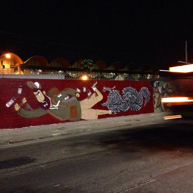 Boa noite! #cazé #cazesawaya #streetartrio #streetartnews #presidentevargas #barbudinhoandarilho #efixis #riodejaneiro #brazilgraffiti