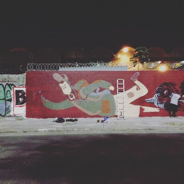 Boa noite! #centro #streetart #streetartrio #presidentevargas #barbudinhoandarilho #cazé #cazesawaya