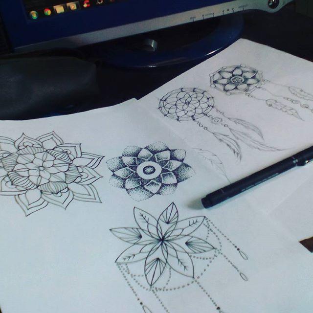 Bom dia! Mais estudos de tattoo! #felipeblunt #streetart #streetartrio #niterói #tattoo #tattooink #bomdia