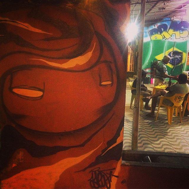 Botecando por aí!!! #rio #riodejaneiro #graffitirio #streetartrio #cidademaravilhosa #boteco #birosca #bar