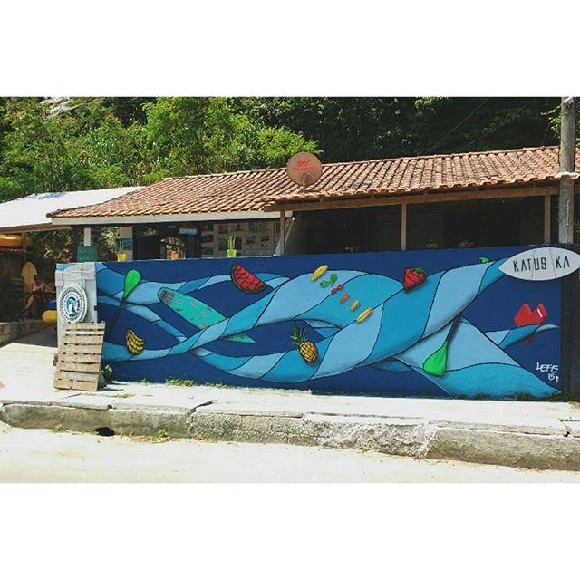 E o @EspacoPuraVida ta de cara nova!! Melhor alimentação vegana dessa cidade, e muitos sorrisos! #graffiti #StreetArtRio #art