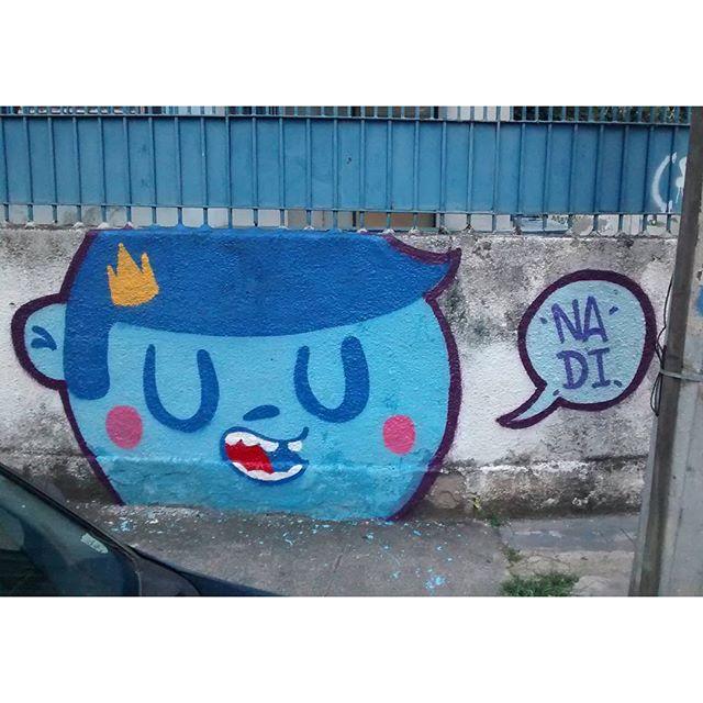 Fala tu! #trapacrew #streetartrio #streetart #urban #tijuca #urbanart #mtn94 #colorgin #reizinho #nadigraffiti #rj #rj40graus