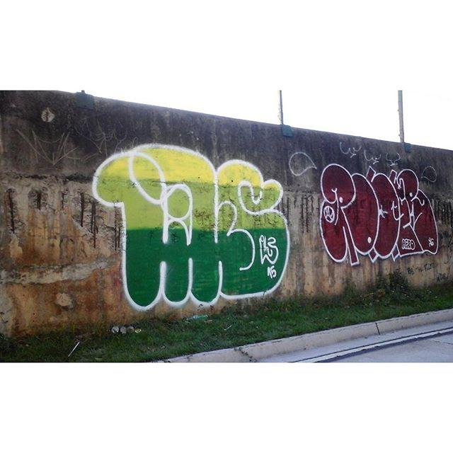 """... Linguagem suburbana Viagem subumana..."" #GraffitiBrasil #GraffitiRioDeJaneiro #Graffiti #StreetArtRio #StreetArt #ArteDeRua #ArtUrban #ArteUrbana #Arte #Art #Rua #Street #ILoveBombing #Bomb #Letters #Letras #HipHop #HipHopGirl #Cor #RjVandal #Vandal #RioDeJaneiro #ZNNZ #ZonaNorte #RuasDaZN #InstaGraffiti #LiksGraffiti #Liks"