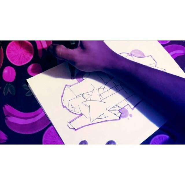 "Música : "" Aprecie cada detalhe "" (@orealliink) #graffiti #graffitiart #streetart #art #arte #arteurbana #graffitikings #letters #weloveletters #artsy #drawing #arts #SprayArt #vscocam #wildstyle #wildstylegraffiti #brasil #graffitilovers #streetartrio #Blopa #BlopaOne"