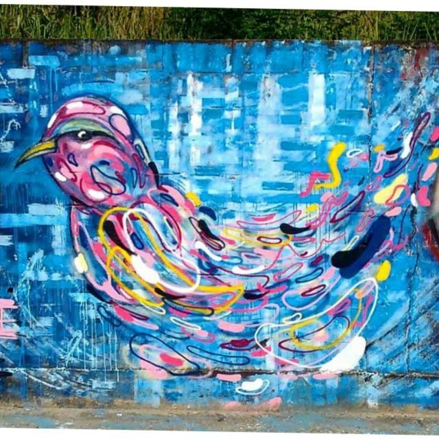 No sketch. Foto por @space2graffiti #canalrisco #graffiti #streetart #streetartrio #aze1 #niteroi