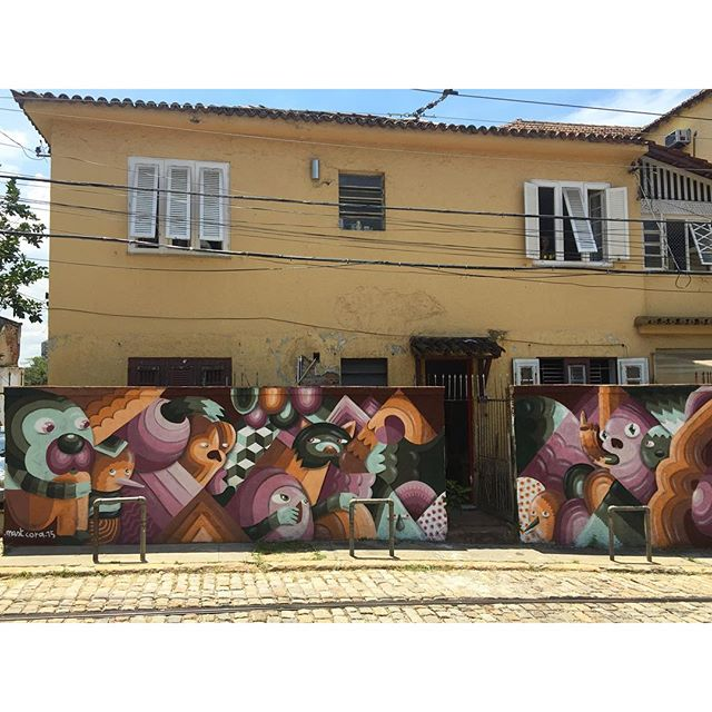 Obrigado Augusto e Marta. #graffiti #riodejaneiro #santateresa #bondinhodesantateresa #streetartrio #artederua #mast #mastcora