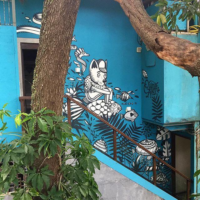 Obrigado Rodrigo #graffiti #santateresa #largodosguimaraes #riodejaneiro #streetartrio #quintaazul #artederua #mast #mastcora