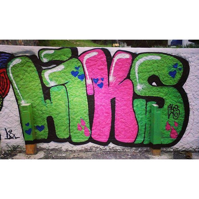 Porque aqui se comemora pintando ! 20 anos amanhão/ Parabéns pra mim haha #GraffitiBrasil #GraffitiRioDeJaneiro #StreetArtRio #StreetArt #ArteDeRua #ArteUrban #ArteUrbana #Letters #Letras #HipHop #HipHopGirl #Rua #Liksgraffiti #Liks #Aniversário #VinteAnos #Parabéns
