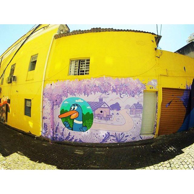 Pra fechar bem o ano e começar 2016 com o pé na porta ! #graffiti #street #streetart #streetartrio #pato #graffitiart #graffitistyle #riodejaneiro #rj