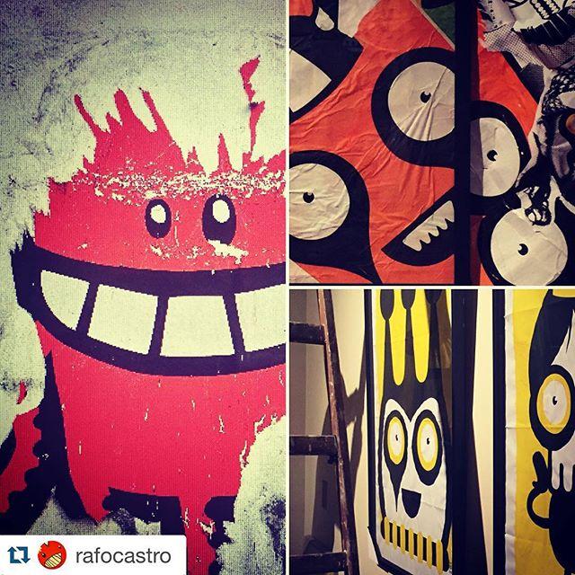 """#Repost @rafocastro with @repostapp. ・・・ É Hoje!!! A abertura da minha exposição """"Cíclico"""" no Centro Cultural Justiça Federal, no centro do Rio, aparece lá!!! #streetartrio #jeffreybeer #jeffreytheduck #rufinograf"""