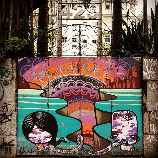 Rio de Janeiro. 06/12/2015 | vandalogy #StreetArtRio #StreetArt #riodejaneiro #graffiti #gavea #spray #FleshBeckCrew #tozfbc #toz