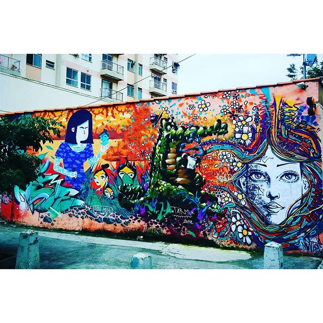 #StreetArtRio @marceloment @viniciuscarvas @memiguilherme & @betofame