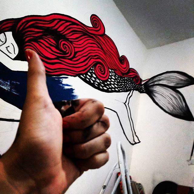 Ta quase O/ #drawing #arte #grafiti #posca #streetart #streetartrio #instagraff #art #riodejaneiro
