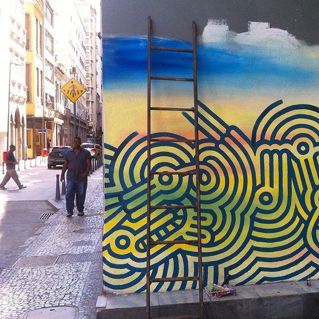 #gatao #centro #rj #ccbb #XV #vidaonelove #streetartrio #streetart #urbanart #ancestral #graffiti #muralismo #massa #passaros #almas #tigre #fantasia #tempos #divagar #sootempo #soloeltiempo